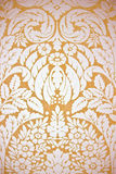 Gold wallpaper Stock Images