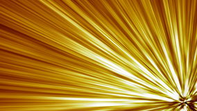 Gold Warped Light beams loop. A 15 second loop of warped light beams/rays shooting out from lower right corner. HD 1080i.-NOTE: Sample Movie is EXTREMLEY stock illustration