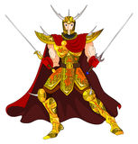 Gold Warrior Royalty Free Stock Photos