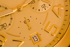Gold Watch Royalty Free Stock Photography
