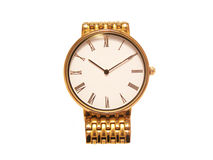 Gold watch Stock Photos
