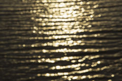 Gold water lights background Stock Image