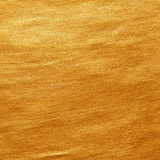 Gold watercolor texture paint stain abstract illustration backgr Stock Photos