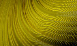 Gold Wave Technology Background Royalty Free Stock Photography