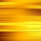 Gold waves background. Metal plate with reflected Royalty Free Stock Photos