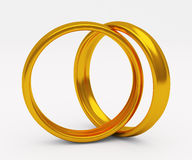 Gold wedding ring Royalty Free Stock Photo