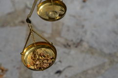 Gold weight Stock Images