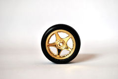 Gold wheel Stock Photography