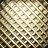 Gold on white concrete Stock Photo