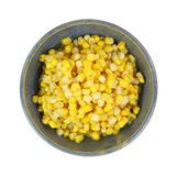 Gold White Corn Kernels Stock Images