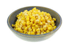 Gold White Corn Kernels Side View Royalty Free Stock Images