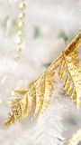 Gold and white elements background christmas Royalty Free Stock Photo