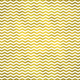 Gold White Metallic Faux Foil Chevron Pattern Chevrons Royalty Free Stock Photography