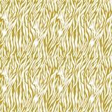 Gold on white zebra stripe print seamless repeat pattern background. Two colour zebra striped print seamless repeat pattern background. Could be used for Royalty Free Stock Photo