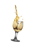 Gold wine Stock Image