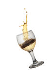 Gold wine Royalty Free Stock Image