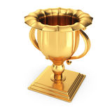 Gold winners cup Royalty Free Stock Photos