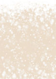 Gold winter holiday paper background Stock Images