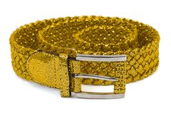Gold woman belt Royalty Free Stock Image