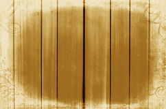 Gold wood panels used as background. frame Stock Images