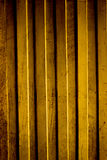 The gold wood wall Stock Photos
