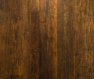 Gold Wooden wall. Gold Brown Wooden wall background Stock Photography