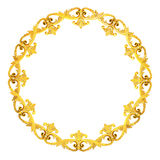 Gold wreath Royalty Free Stock Photo