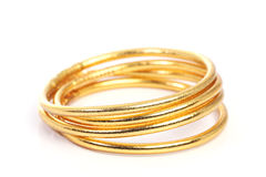 Gold Wrist Band Royalty Free Stock Image