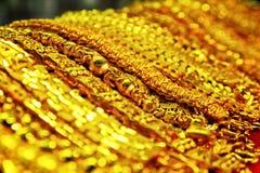 Gold wristband scene Stock Photos