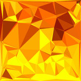 Gold Yellow Banana Abstract Low Polygon Background Royalty Free Stock Photography