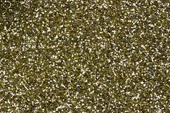 Gold Yellow Glitter Detail Stock Photography