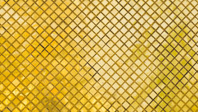Gold and yellow mosaic tiles Stock Image