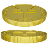 Gold yen Stock Images