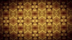 Gold zigzag pattern wallpaper Stock Images