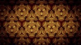 Gold zigzag pattern wallpaper Stock Photo