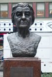 Golda Meir. A bust of Golda Meir, the former Israeli Prime Minister, in New York City Royalty Free Stock Photos