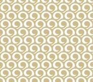 Goldabstraktes Muster stock abbildung