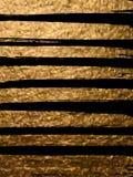 Goldbürstenanschlag im schwarzen Hintergrund Design-Schablonen für Broc lizenzfreie abbildung