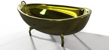 Goldbad Lizenzfreies Stockfoto