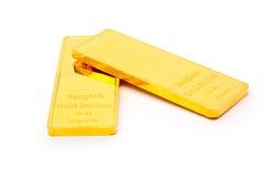 Goldbarren stockbilder
