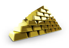 Goldbars Royalty Free Stock Photos