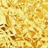 Goldbeschaffenheit Lizenzfreie Stockfotografie