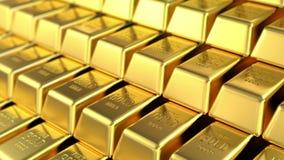 Goldbestände lizenzfreie abbildung