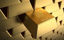 Goldbestand Lizenzfreie Stockbilder
