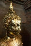 Goldbild von Buddha stockfotos