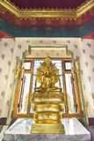 Goldbild von Buddha Stockfotografie