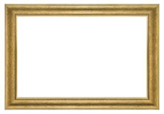 Goldbilderrahmen Stockfotografie