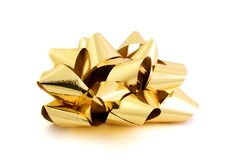 Goldbogen Lizenzfreie Stockfotos