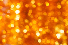 Goldbokeh Hintergrund Lizenzfreie Stockfotografie