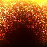 Goldbokeh Hintergrund Lizenzfreies Stockfoto